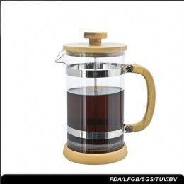 best coffee press bamboo top rated double filter french press coffee maker