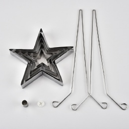 Stainless Steel Star Cake Mold Kitchen Tool Cooking Tools cookies mould