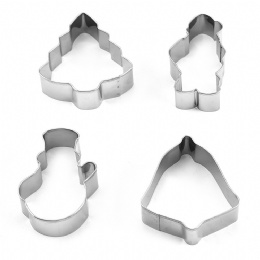 Stainless Steel Christmas Pattern Cookie Cutter DIY Cookies mould