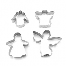 Angel Shape Metal Cake Mold Stainless Steel Cookie Cutter