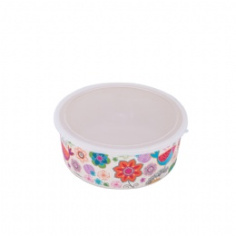 Snack Food Container Foodgrade safe and Biodgradeable Convenient Carrying Crisper with PP Lid