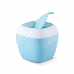 plastic waste bin 4 colors in stock table dust bin home use wastebin with ajustable size