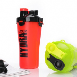 custom travel mugs Double Mixer Gym Protein Shaker Bottle for Sale