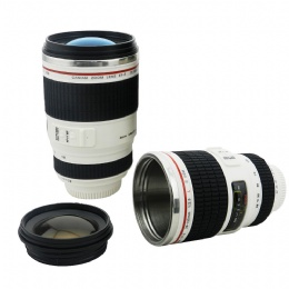 best travel mug New Fashion 400ml Coffee Camera Lens Mug Cup for sale