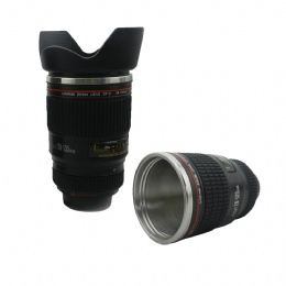 travel cup Cheap Best Selling Unique Souvenir Promotional Logo Custom Camera Lens Coffee Cup