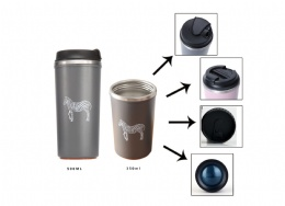 coffee tumbler 500ml double wall stainless steel insulated water bottle
