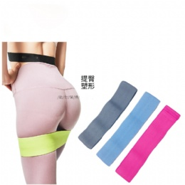 Custom printed Yoga Gym Exercise non slip resistance bands Booty Hip Fabric Resistance Bands