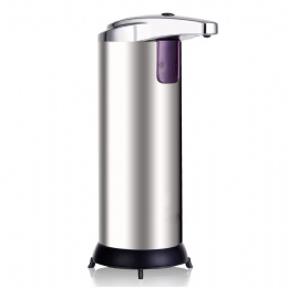 Wholesale Hands Touchless Stainless Steel foam soap dispenser Automatic Liquid Soap Dispenser with batteries